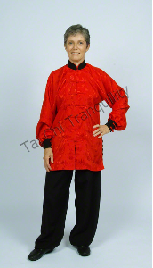 Silk Tai Chi Uniform by Tai Chi Tranquility