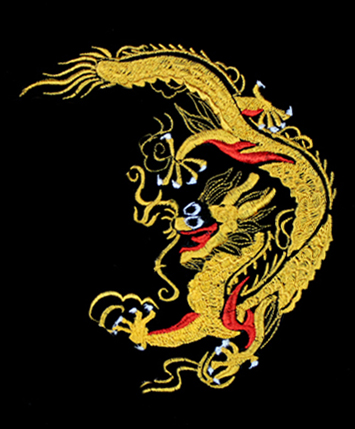 Dragon embroideryTai Chi Tranquility