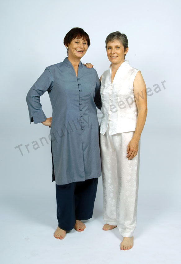 Tai Chi Uniforms Kathleen and Judith from Tai Chi Tranquility