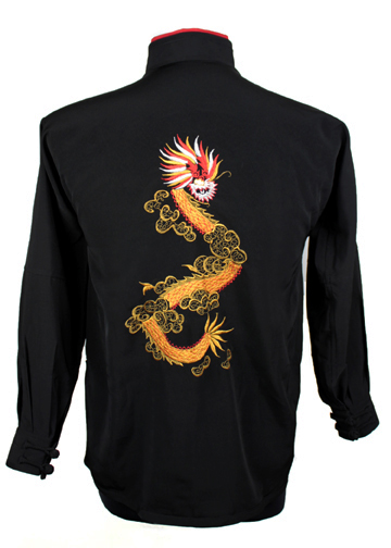 Tai Chi Clothing by Tai Chi Tranquility with dragon embroidery