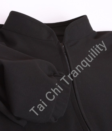 Simply Tai Chi Z in Black Cotton Spandex Medium Weight