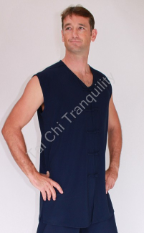 Men's Summer Tai Chi Top V from $34