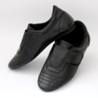 Tai Chi Shoes Leather Velcro Closure
