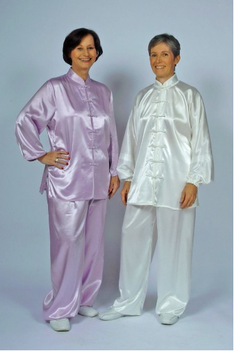 Satin Tai Chi Clothes by Tai Chi Tranquility