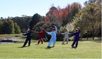 Satin Tai Chi Uniforms by Tai Chi Tranquility