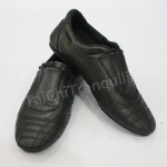 Tai Chi Shoes Leather with Covered Single Lace