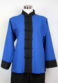 Casual Martial Arts Jacket with contrasting trim from $39