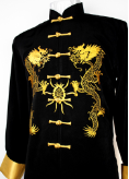 Tai Chi Jacket Double Dragons