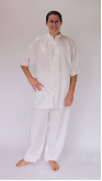 Tai Chi Uniform with elbow length sleeves from $75